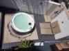 patio spa douche shower
